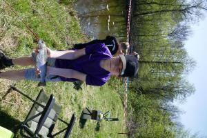 2018-04-21 Forellenangeln Jugendgruppe in Borsum 00013