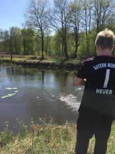 2018-04-21 Forellenangeln Jugendgruppe in Borsum 00021